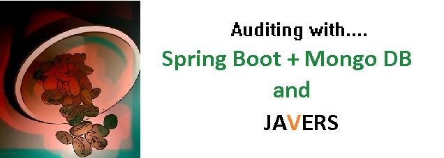Auditing using Spring boot, MongoDB and JaVers