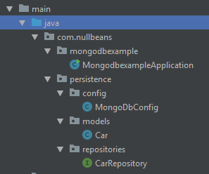 Spring boot and MongoDB configuration example | Nullbeans com